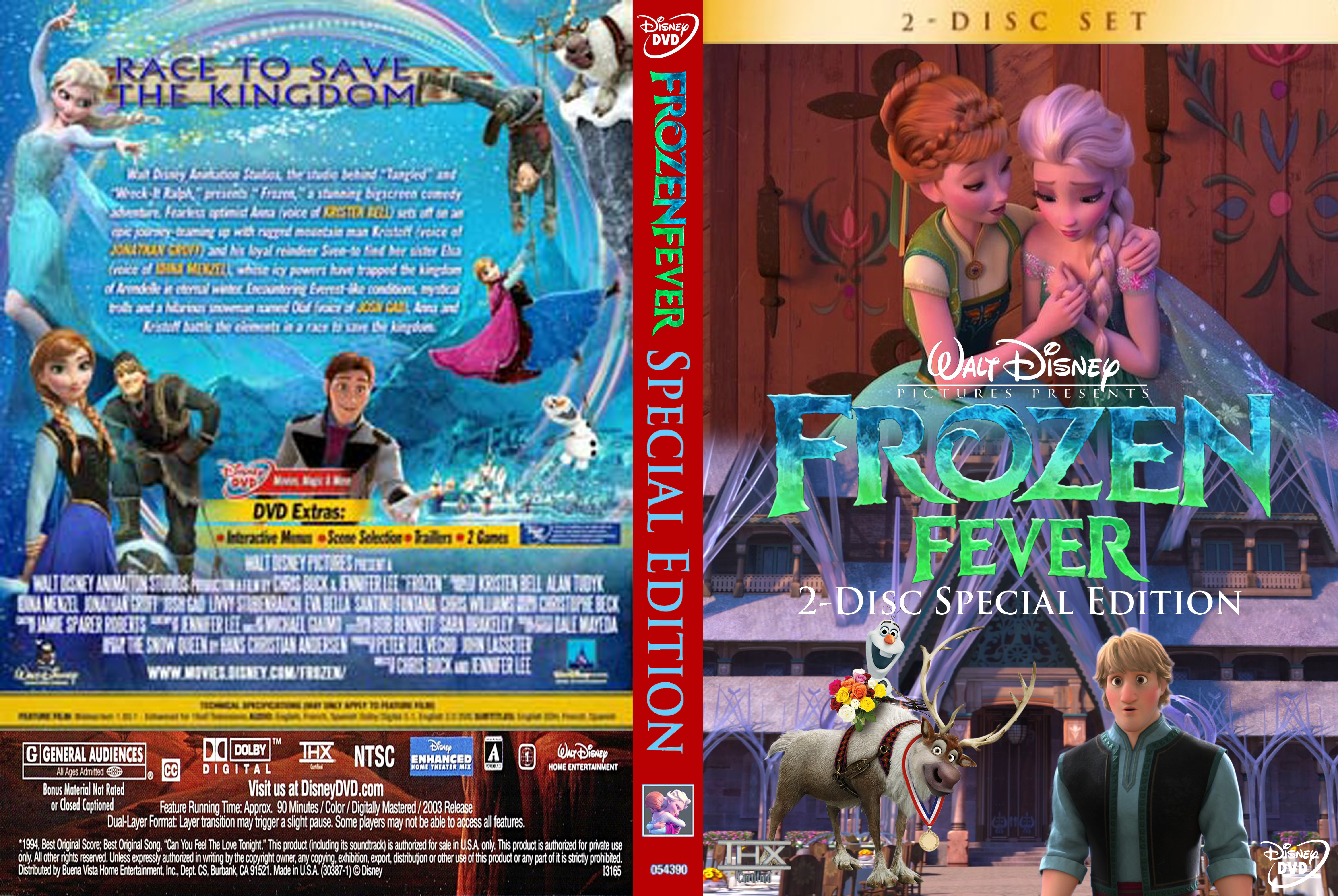 Walt Disney's アナと雪の女王 Fever 2-Disc Special Edition (2004) DVD