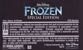 Walt Disney's Frozen Special Edition (2004) VHS Black - frozen photo