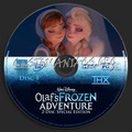 Walt Disney's Olaf's Frozen Adventure 2-Disc Special Edition (2004) DVD CD 1 - frozen photo