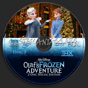 Walt Disney's Olaf's 《冰雪奇缘》 Adventure 2-Disc Special Edition (2004) DVD CD 2