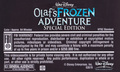 Walt Disney's Olaf's Frozen Adventure Special Edition (2004) VHS Black - frozen photo