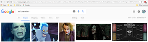 What Happens When I Type In Evil Charactes
