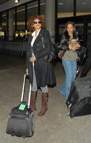 Whitney And Daughter, Bobbi Kristina Brown