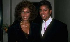 Whitney And Jermaine Jackson
