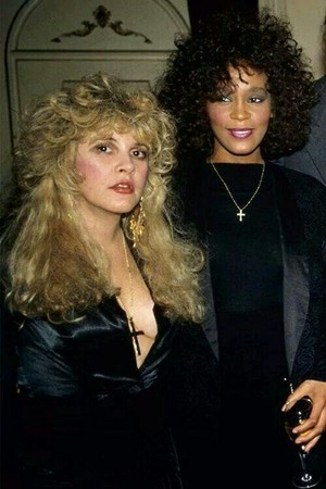 Whitney And Stevie Nicks