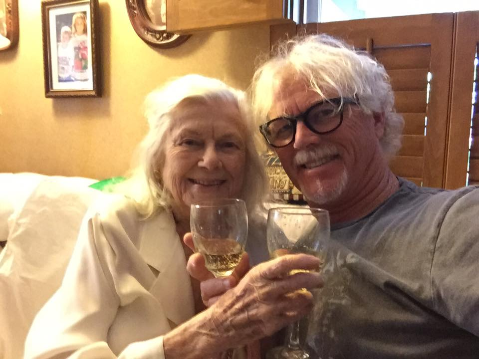 William Katt and his Mom