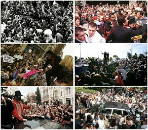 World's Biggest Superstar MJ Creating Mass Hysteria