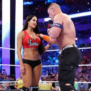 Wrestlemania 33 - John Cena and Nikki Bella