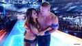 Wrestlemania 33 - John Cena and Nikki Bella - wwe photo