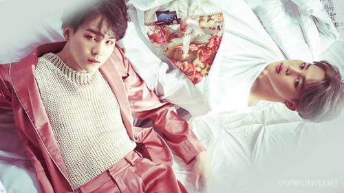 Jimin (BTS) fond d'écran entitled YoonMin
