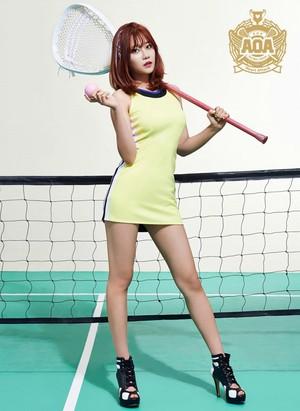 Yuna (AOA) - ハート, 心 Attack