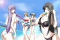 Yuzuriha,Phantasos,Pandora and Sasha(Saint Seiya: The Lost Canvas)
