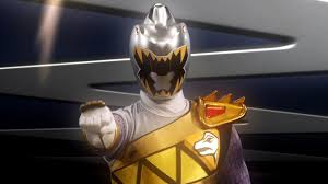 Zenowing Morphed As The Silver Dino Charge Ranger