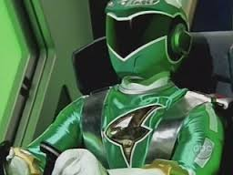 Ziggy Morphed As The Green RPM Ranger