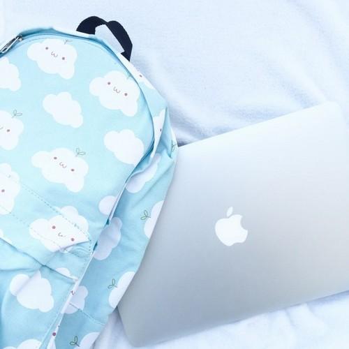 Aesthetic Im 225 Genes Aesthetic Bag Blue Macbook Favim Com