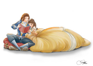 belle and adam by silvercatseyes d80e1sx