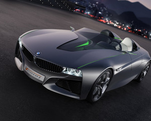 bmw auto black stylish 526 1280x1024