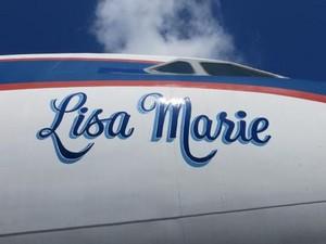 Plane Named After Lisa Marie Presley