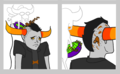 BUZZ BUZZ - homestuck photo