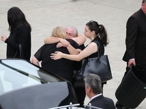 funeral of Lars, Vivian and Annabelle Falkholt