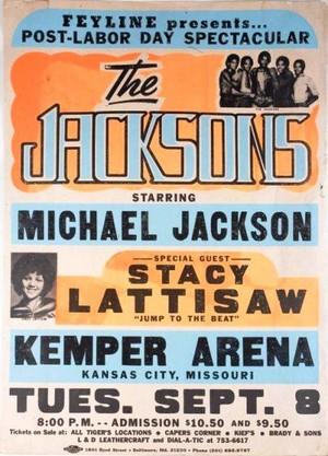 A Vintage संगीत कार्यक्रम Tour Poster