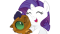 kitten capper and baby rarity by magpie pony dbw9pdp - capper-dapperpaws photo