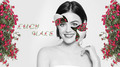 lucy flower bw 1366x768 - lucy-hale photo