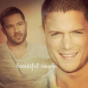 luke and wentworth beautiful couple