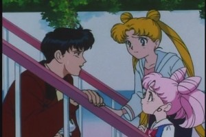 mamoru Usagi and Chibiusa