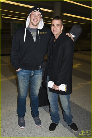 mark salling and cory monteith