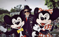Michael Jackson With Mickey And Minnie  - disney photo