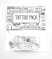 motivational Bandage Tattoos bandaid temporary tattoos 2014 - random fan art
