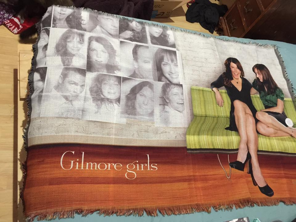 my Gilmore Girls blancket