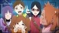 boruto naruto next generation girls - anime wallpaper
