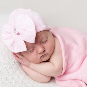 pink striped nursery hat shabiki bow cropped a9abc7d6 4dcd 43be 990f 16dfcd86d1fe large