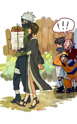 shizune and ककाशी