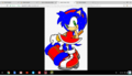 sonica the hedgehog - sonic-fan-characters-recolors-are-allowed photo