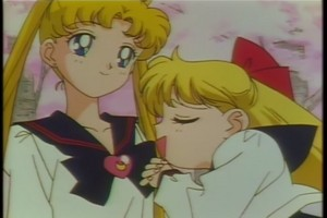 usagi and Minako