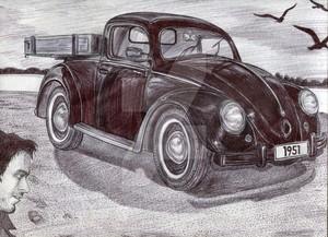 volkswagen beetle pickup truck 1951