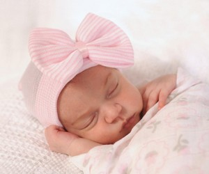 wholesale newborn hospital hat baby girl