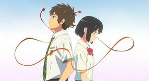 your name kimi no na wa braided cord
