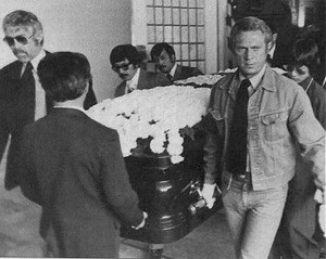 Bruce Lee's Funeral Back In 1973