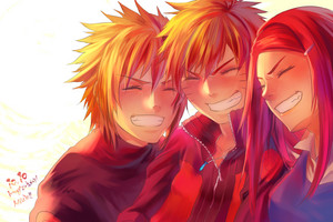 ❤️ Minato,Kushina and নারুত ❤️