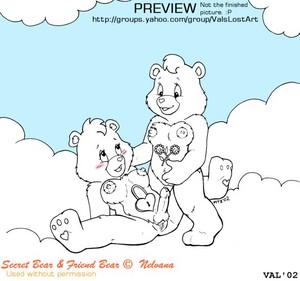 Secret भालू and friend भालू naked