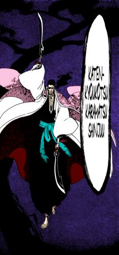 *Shunsui Kyoraku Bankai : Katen Kyokotsu: Karamatsu Shinju : Bleach*