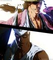 *Shunsui Kyoraku vs Lille Barro : Bleach* - anime photo