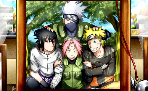 yui1234 achtergrond titled ❤️ Team 7 ❤️