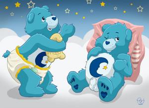 bedtime भालू naked