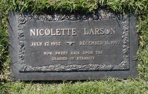 Gravesite Of Nicolette Larson