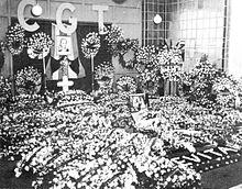 Eva Peron's Funeral Back In 1952